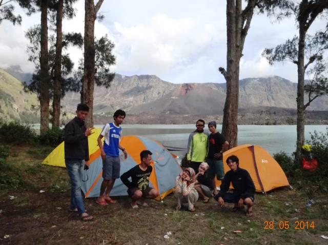 opentrip pendakian gunung rinjani